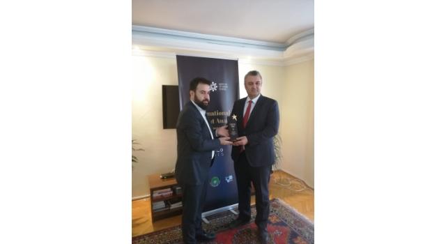"""Malkara Belediyesi'nin """"GÜNEŞİN GÜCÜ"""" Projesine Ödül"""