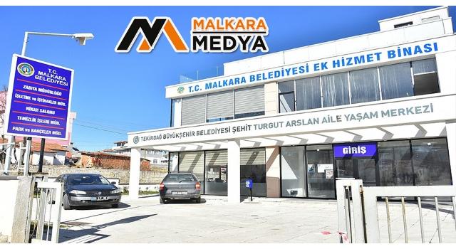 Malkara Belediyesi Ek Hizmet Binası Hizmet Vermeye Başladı