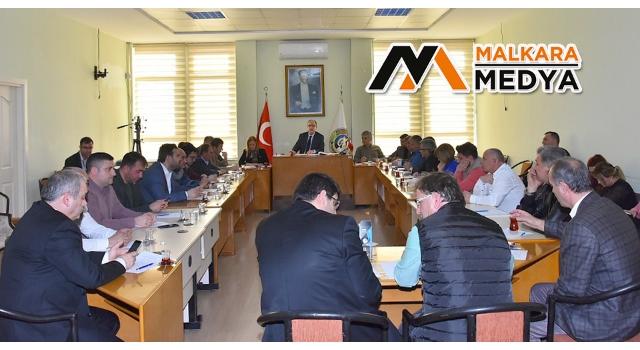 Malkara Belediyesi Mart Ayı Meclis Toplantısı Gerçekleştirildi