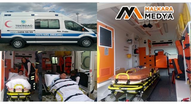 Büyükşehir Belediyesi'nden Hasta Nakil Hizmeti