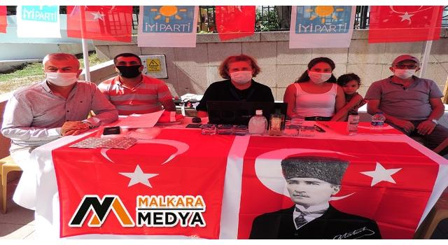 İYİ Parti Malkara İlçe Başkanlığından Üye Kaydı Çalışması