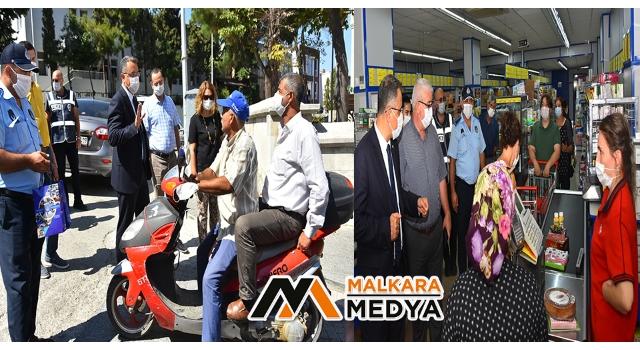 Malkara'da Koronavirüs Salgınına Karşı Alınan Önlemler Denetlenmeye Devam Ediyor