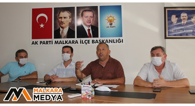 """AK Parti Malkara Başkanı Gökhan Şentürk: """"Kızma Kadir Başkan, Vatandaşın Çeşme Yalağında Banyo Yapıyor"""""""