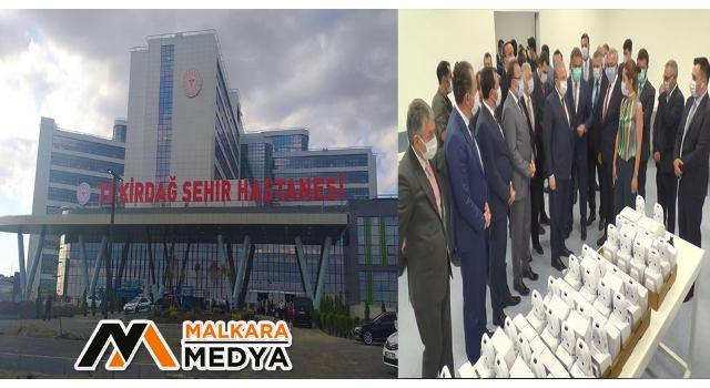 Trakya'nın en büyük hastanesi açılışa gün sayıyor