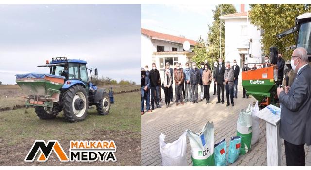 Tekirdağ Büyükşehir Belediyesinin Karamurat ve Sarnıç Mahallerinde Hayvancılığa Desteği Sürüyor