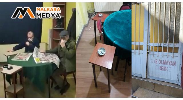 Malkara'da mührü bozup yine oynadılar: 25 kişiye 77 bin 500 lira ceza