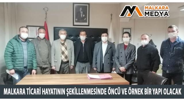 Malkara TSO ve Malkara Ziraat Odası Ortak Hizmet Binası Ön Protokolü Sonunda İmzaladı