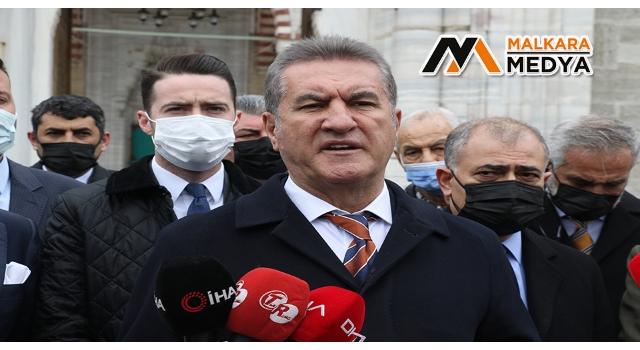 """TDP Genel Başkanı Sarıgül'den """"Amiral"""" yorumu"""