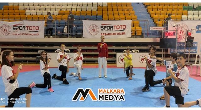 Malkaralı Kızımız Sahra Nur Özdemir Türkiye Şampiyonu Oldu