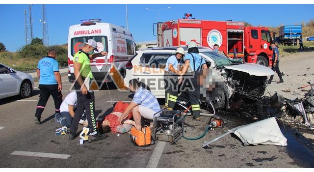 Malkara'da Feci Kaza; 3 Ölü 1 Yaralı