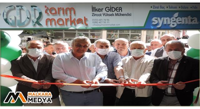 GDR Tarım Market Malkara'da Açıldı