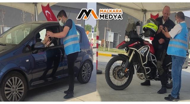 İpsala Sınır Kapısında Türkiye'ye girişte PCR testi uygulaması
