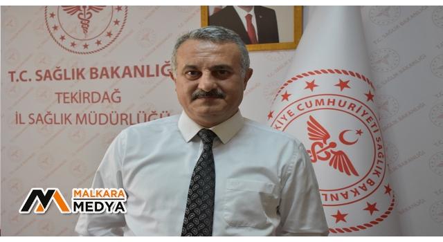 """Tekirdağ İl Sağlık Müdürü açıkladı: """"Minimal artışların sebebi İstanbul'a yakınlık"""""""