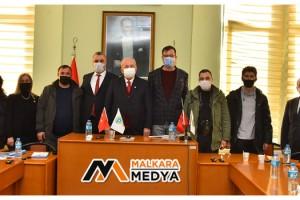 Başkanlar, Büyükşehir Bürokratları ile birlikte Malkara Yerel Basın Mensuplarıyla Buluştu