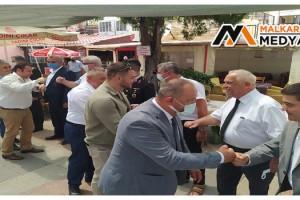 Malkara'da Bayramlaşma Töreni Gerçekleştirildi